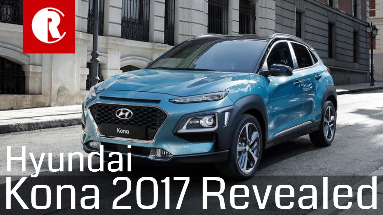 Hyundai Kona 2017 compact SUV revealed