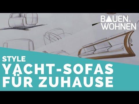 Design trifft Komfort: Stylische Sitzmöbel im Yacht Design  BAUEN & WOHNEN
