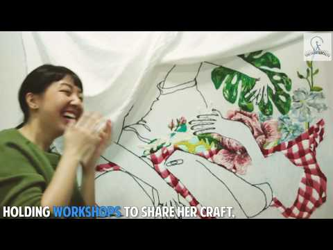 Storytelling With Thread  - Meet Singapore's Youngest Embroidery Artist!