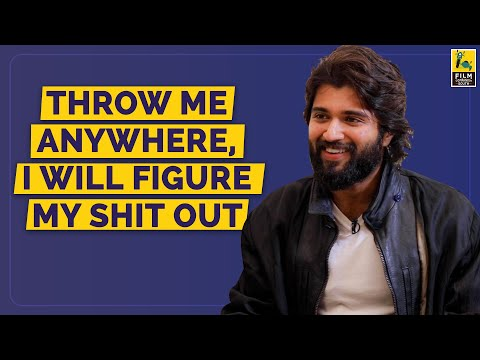 Throw Me Anywhere, I Will Figure My Shit Out | Vijay Deverakonda Interview | Anupama Chopra
