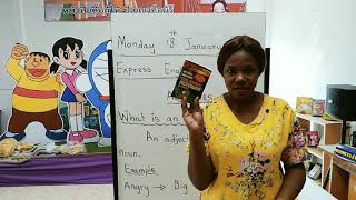 Adjective M.1 - English Online Class With Teacher Maggie