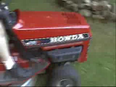hqdefault honda ht3813 2 cylinder liquid cooled lawn tractor youtube honda 3813 wiring diagram at fashall.co