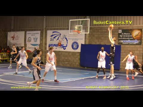 Highlights ROBERT BOBROCZKY  2.29 m. 15 years - U16 Stella Azzurra Roma 2015 (BasketCantera.TV)