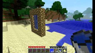 Minecraft How to Mąke An Aether Portal