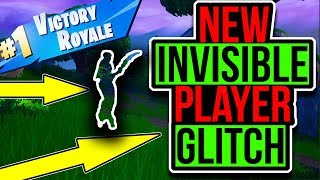 Fortnite Invisible Glitch! Fortnite Glitches! Fortnite season 8 glitches