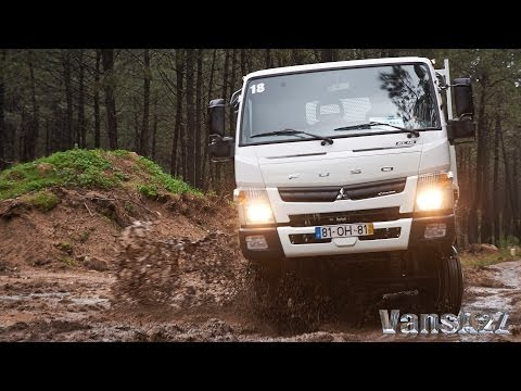 2014 FUSO Canter 4x4 - Press Launch In-Cab
