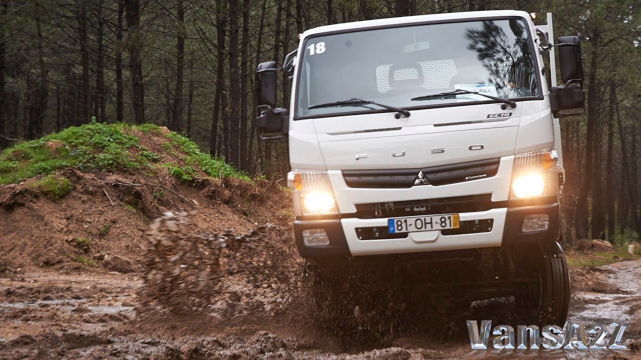 2014 Fuso Canter 4x4 Press Launch In Cab Youtube