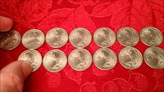 $$$ MAKING MONEY FINDING ERROR COINS HUNTING $100 QUARTERS! COIN ROLL HUNTING