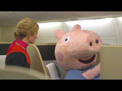 Peppa Pig Flies to Australia with Qantas