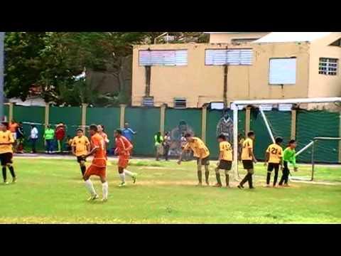 1er juego Liga del Este Los Santos Fc  U-15 Caguas   vs.  Indios de Canovanas