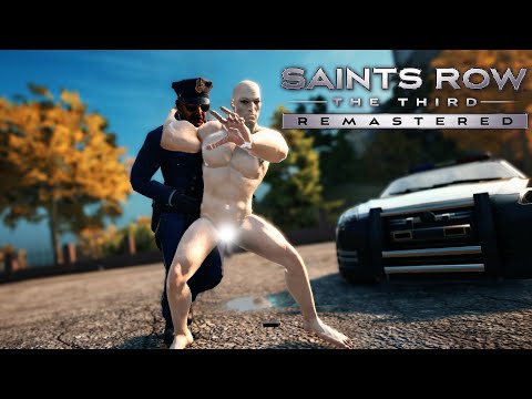 Saints Row The Third Remastered Unholy Monstrosity Glitch