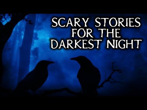 Scary True Stories Told In The Dark Cabin   Thunderstorm/Fireplace Video   (Scary Stories)