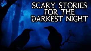 Scary True Stories Told In The Dark Cabin | Thunderstorm/Fireplace Video | (Scary Stories)