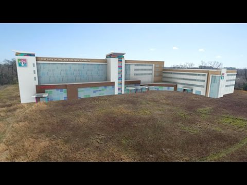 Our Lady Of The Lake Baton Rouge >> Our Lady Of The Lake Children S Hospital Breaks Ground On New Home