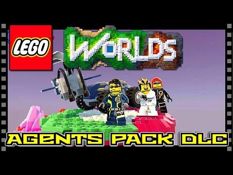 LEGO WORLDS PS4 | FREE AGENTS DLC - How to get it - YouTube