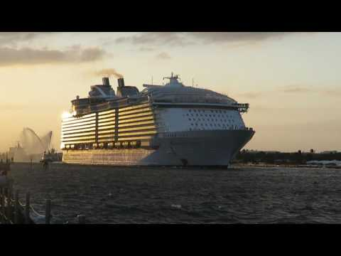Royal Caribbean Harmony of the Seas Inaugural sailing from Port Everglades, Florida
