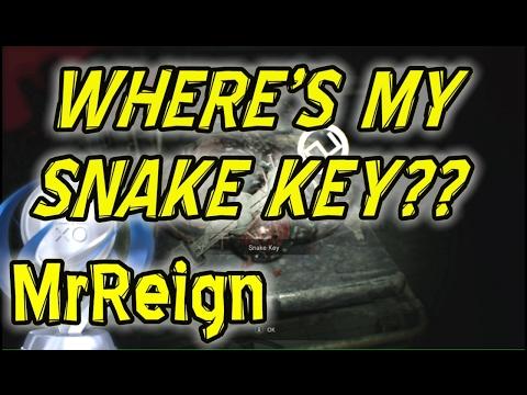 RESIDENT EVIL 7 - WHERE'S THE SNAKE KEY?? - TUTORIAL ON SPAWNING THE SNAKE KEY
