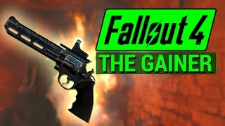 FALLOUT 4: How To Get THE GAINER Flaming .44 Magnum in Fallout 4! (Unique Weapon Guide)