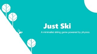 Just Ski Official Trailer (iOS)