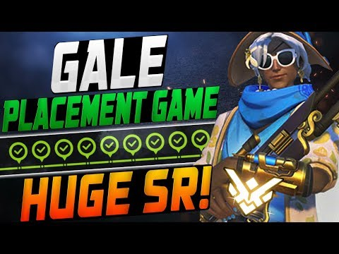 GALE INSANE ANA! PLACEMENT GAME! HUGE SR?! [ OVERWATCH SEASON 12 TOP 500 ] thumbnail