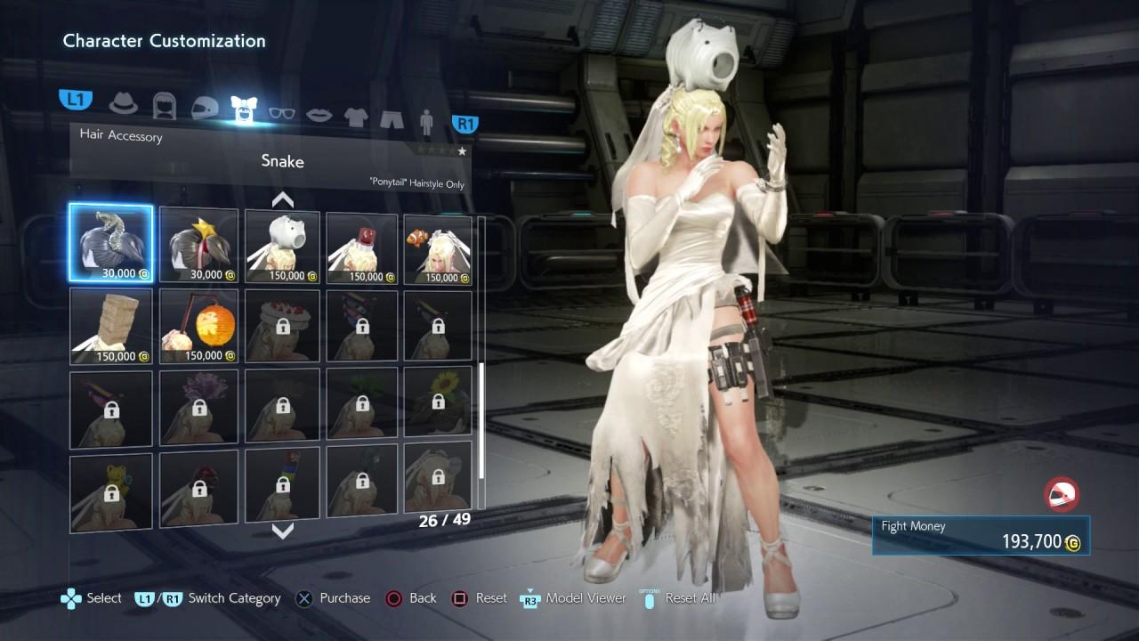 Tekken 7 Nina Full Character Customization Player
