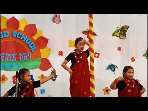 united school kathmandu parents day student dancing showtime
