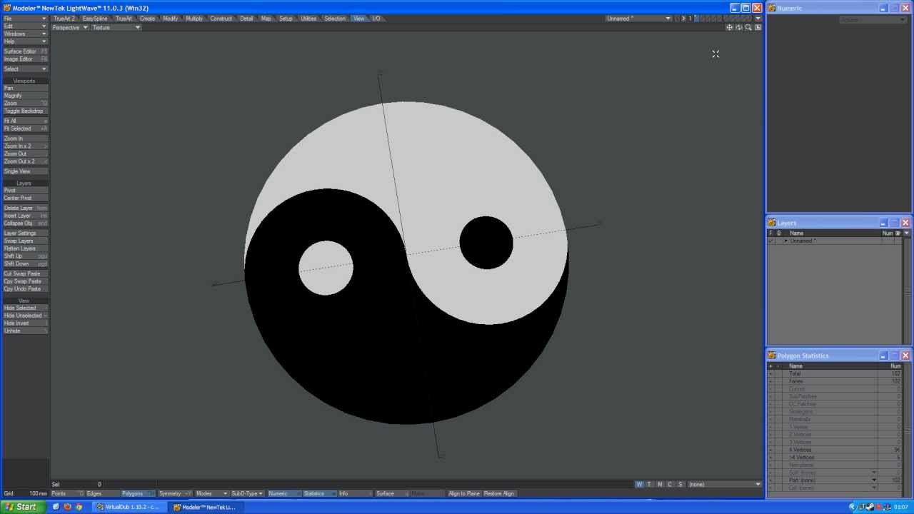 trueart lightwave 3d tutorial how to make yin yang full hd video