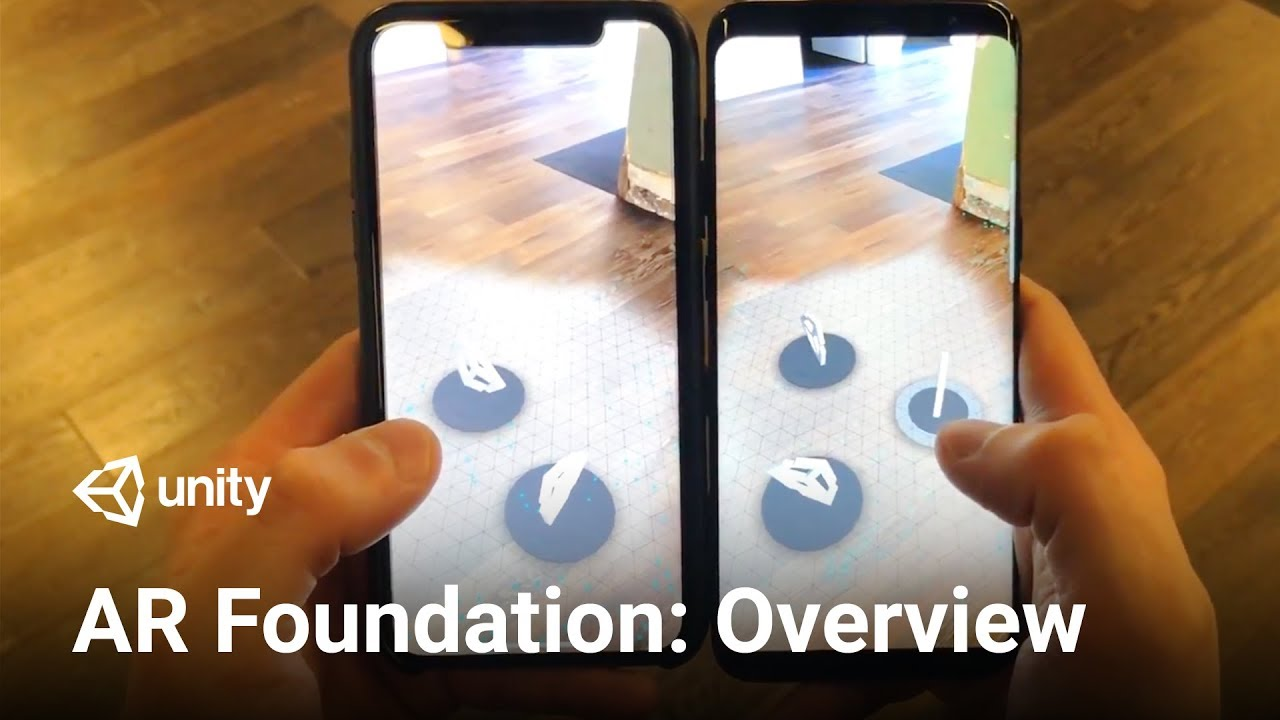 Unity's Handheld AR Ecosystem: AR Foundation, ARCore and
