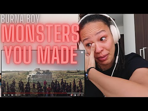 This was an EMOTIONAL One! 😩 | Burna Boy - Monsters You Made | [REACTION!!] indir