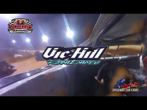 #3 Brandon Hardgrove - Crate Late Model - 10-14-17 Ponderosa Speedway - In Car Camera