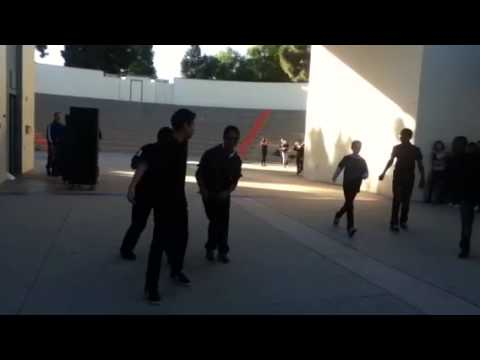 Alondra Middle School 2014-2015 step/dance team.