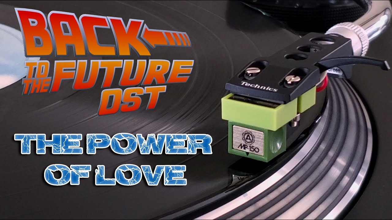 Back To The Future (OST) - The Power Of Love (Original Pressing) - Black Vinyl LP
