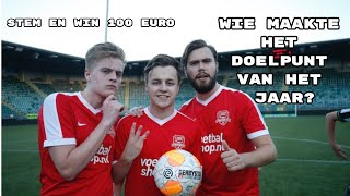 WIN €100,- Doelpunt van het jaar, Robbie, Niek, Arsenio, Jaey of Robbin? Kijkers bepalen in reactie.