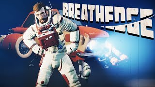 SUBNAUTICA IN SPACE?! - CRAZY NEW Space Survival Game! - Breathedge Gameplay