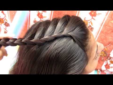 FRENCH BRAID UPDO INSPIRED NAYRA HAIRSTYLE