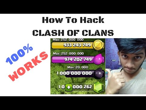 How To Hack Clash of Clans!100% WORKS! Easy & Simple!(How to download Clash of Lights server 1&2)!