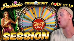 Philip plays Crazy Time! (NEW ONLINE CASINO GAME)
