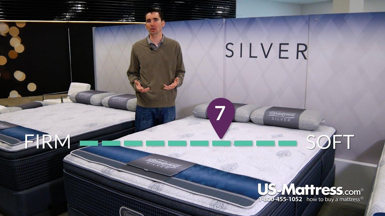 simmons beautyrest silver lydia manor iii plush pillow top mattress