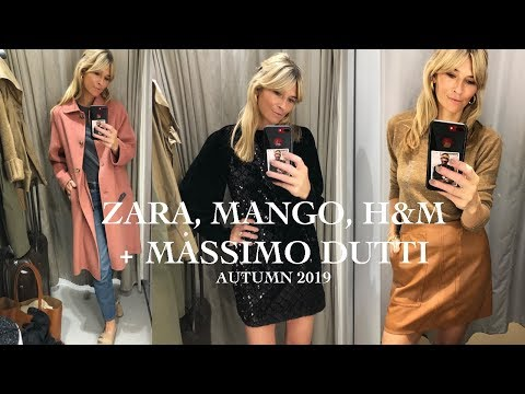 ZARA, MANGO, H&M, MASSIMO DUTTI | SHOP WITH ME AUTUMN 2019