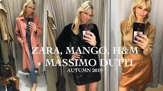 ZARA, MANGO, H&M, MASSIMO DUTTI | SHOP WITH ME AUTUMN 2019