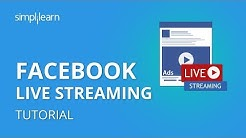 Facebook Live Streaming Tutorial | How To Set Up Livestream On Facebook | Simplilearn