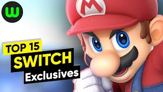 Top 15 Nintendo Switch Exclusives | Whatoplay