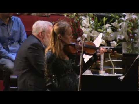 """Mariya Borozina, violin & Miles Graber, piano: Beethoven - Violin Sonata No.9, Op.47 """"Kreutzer"""""""