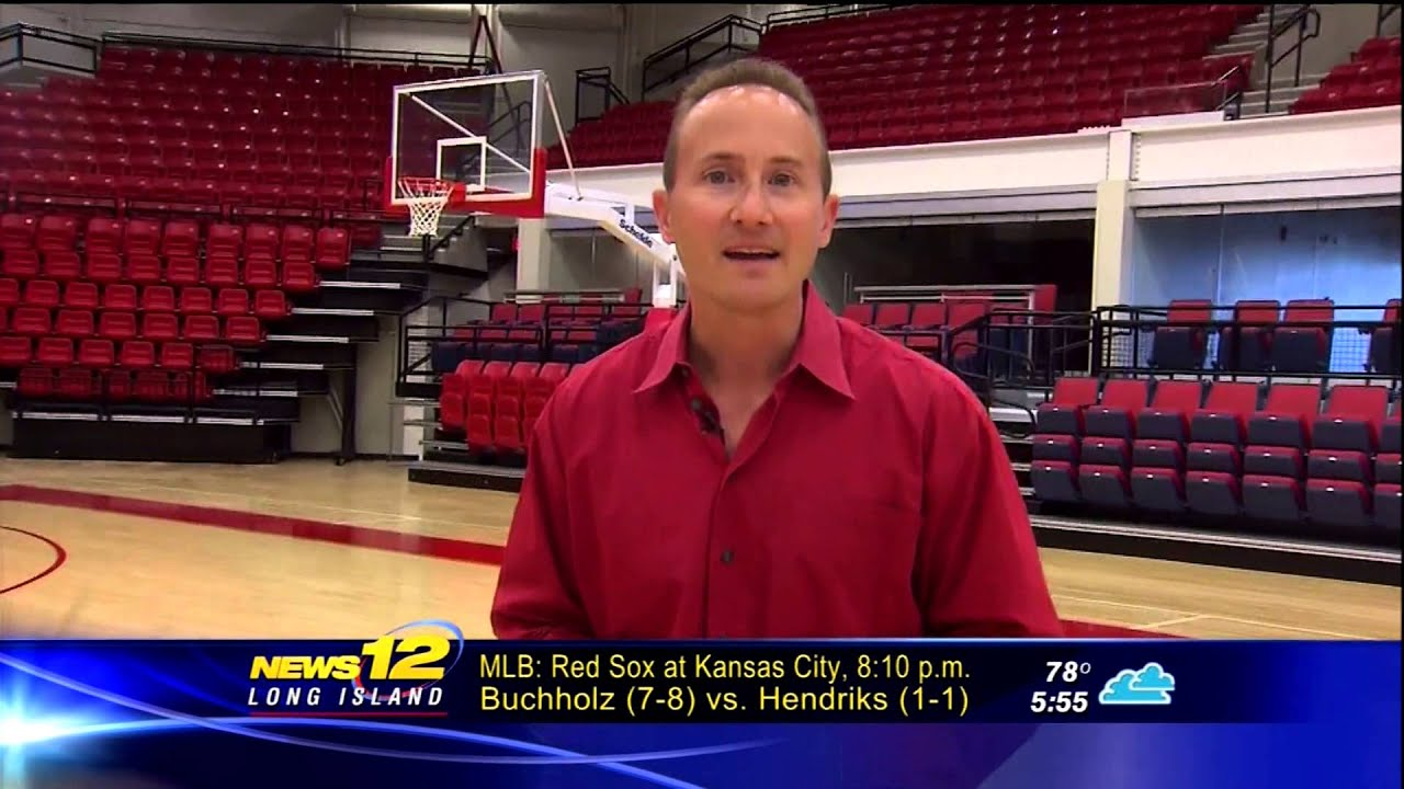 News 12 Long Island Takes Tour Of Stony Brook Arena