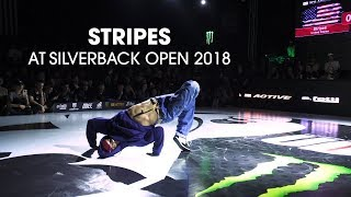BBoy Stripes na Silverback Open 2018