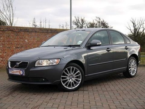 2010 volvo s40 se lux 2 0d saloon automatic grey for sale. Black Bedroom Furniture Sets. Home Design Ideas