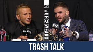 Cody Garbrandt vs TJ Dillashaw 2 Hilarious Trash Talk Press Conference Highlight ahead of UFC 223