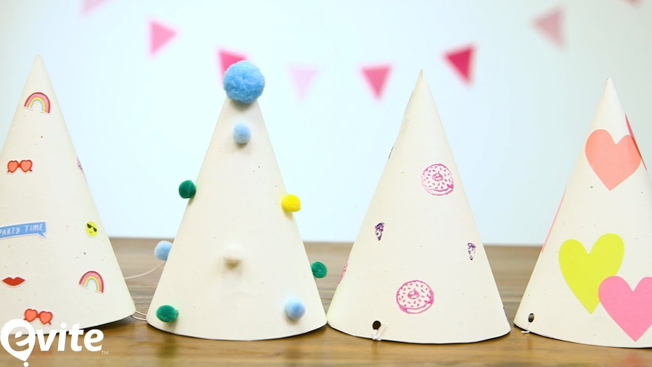 How To Make Birthday Hats For Kids