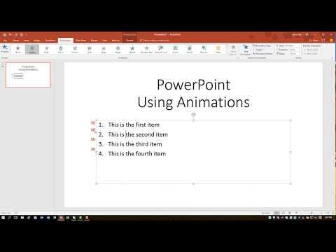 PowerPoint 2016 Một dòng tại một thời điểm
