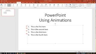PowerPoint 2016 One Line At A Time